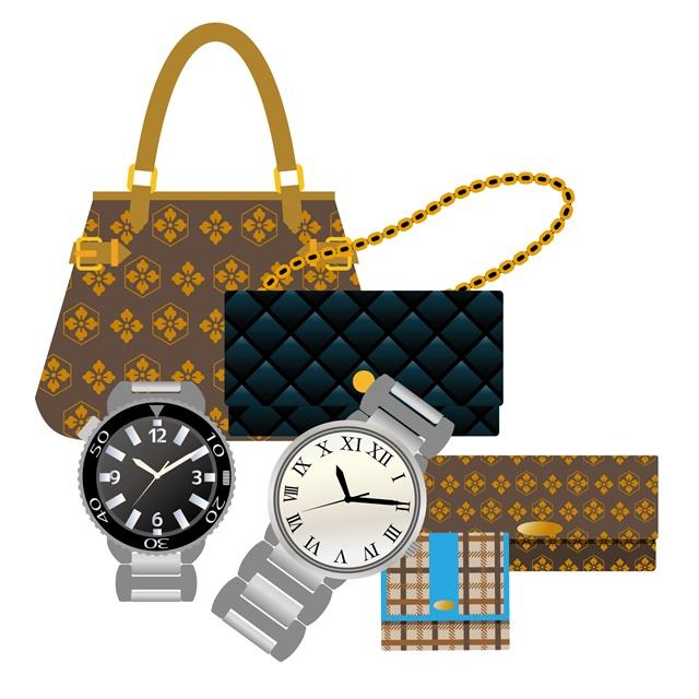 カバン 腕時計 ブランド